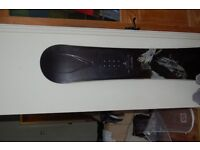 Ride Yukon 163cm snowboard. Burton SI boots and bindings UK size 10.5