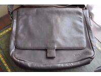 Rocha John Rocha Leather Man Bag
