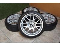 "Genuine RIVA DTM 18"" CSL Style Alloy wheels 5x120 fits BMW 3 Series E46 E90 E91 E92 E93 Z4 Alloys"
