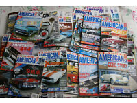 Classic American car magazines issue No 1 (1988) -No 273 (2014) 1 missing.