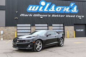 2013 Chevrolet Camaro 2SS RS PKG! 6-SPEED! LEATHER! HEADS UP! RE