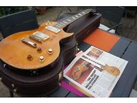 Les Paul Standard vintage Greeny aged real nitro finish applied then re-sliced G headstock Superb