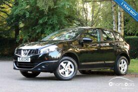 2010 Nissan Qashqai 1.6VISIA 2WD 5dr £5695