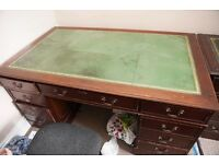 Beautiful desk for sale with draws and cabinet