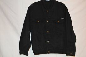 Boys Black Denim Jacket AGE 11-12 years