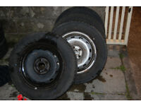 Vauxhall vivaro new shape 205/65/R16 x 4 wheels/tyres 2014-2018>