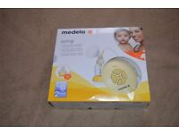 medela swing single electric breastpump with calma solitaire
