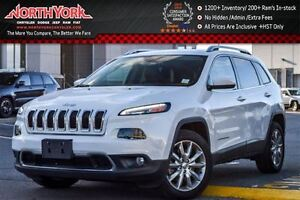 2016 Jeep Cherokee Limited 4x4|Nav|R.Start|Leather|Backup Cam|HT