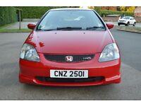 2001 HONDA CIVIC TYPE R EP3 RED FULL MOT good condition (m3 st 182 172 dc2 dc5 vti wrx)