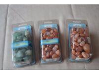 Aquarium Natural Decorative Stones BNIP + Loose
