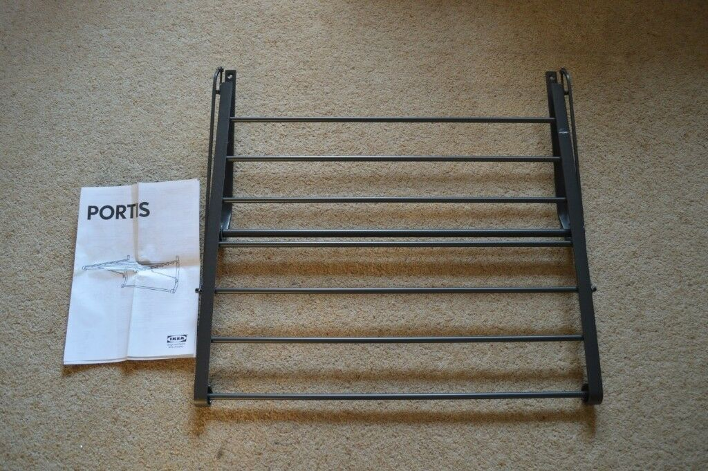 Ikea Portis Clothes Wall Drying Rack In Bracknell Berkshire