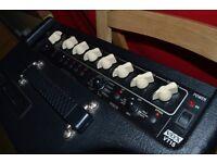 Vox VT15 guitar amp & more.