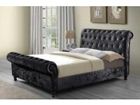 🔥CLEARANCE SALE🔥 Brand New Luxury Sleigh Beds With Free Delivery‼️