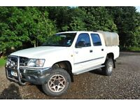 2002 Toyota Hilux D-4D pick up 2.5l 126k