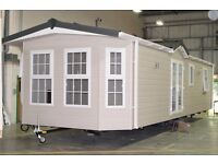 Qualiluminar Shepperton 36x12ft static caravan DG CH for 2017