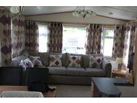 6 berth static Cavan for sale at Keltie bridge Callander.