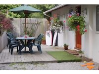 Holiday cottage near Looe, Cornwall. Woodland setting sleeps up to 6 Prices from £305
