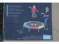 Play Trampoline (Plum Products) for ages 3 to 8 years, 5ft diameter, no cage