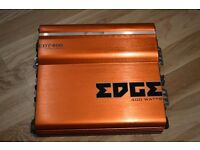 CAR AMPLIFIER EDGE 400 WATT 2/1 CH CLASS AB AMP CANB RUN DOOR SPEAKERS OR SUBWOOFER SUB MADE BY VIBE