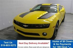 2012 Chevrolet Camaro NUMBERED TRANSFORMERS EDITION! 2LT COUPE w