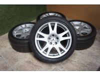 """Genuine Mercedes CLS 17"""" Alloy wheels 5x112 E Class S Class Vito Alloys W219"""
