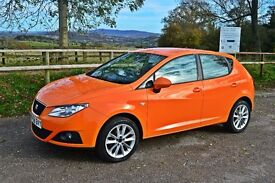 **REDUCED**Seat Ibiza 1.4 16v Sport 5dr-Orange Colour - Excellent Condition in and out - Low Mileage