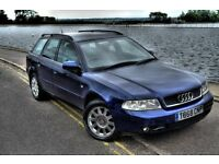 Audi A4 Avant Estate 2.5 TDI V6 six speed in Blue - Family Car - Wagon - Not RS4