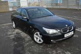 BMW 5-series 520d LCI 2007 perfect condition!! very low mileage!