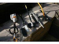 Ryobi Petrol strimmer Garden multi Tool