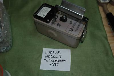 Ludlum Model 3 Survey Meter W Counts.pro System Installed. Iphone Connectable