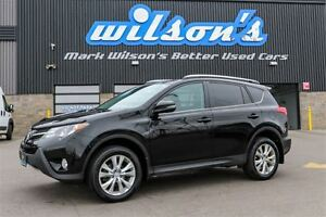 2014 Toyota RAV4 LIMITED AWD! LEATHER! NAVIGATION! SUNROOF! REAR