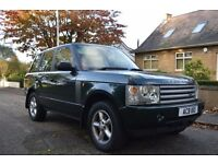 2003 LAND ROVER RANGE ROVER VOGUE 3.0 DIESEL AUTOMATIC 12 STAMP SERVICE HISTORY FULL CREAM LEATHER..