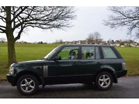 LAND ROVER RANGE ROVER VOGUE HUGH SPEC SAT-NAV FULL LEATHER CD 6 DISC 12 STAMP PRIVATE PLATE ALLOYS