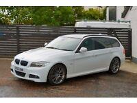 2010 BMW E91 320D M SPORT PLUS EDITION FBMWSH 2 KEYS LOW RATE FINANCE + 6 MONTH RAC WARRANTY NOT A4