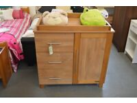 Solid Pine Kiddy Style Baby Changing Unit - GT 038