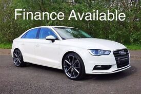 AUDI A3 2.0 TDI 150 BHP SALOON**AMALFI WHITE***FINANCE AVAILABLE***(NOT AUDI A4 BMW 320D VOLKSWAGEN)