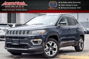 2017 Jeep Compass New Car Limited 4x4 NavigationPackage LeatherS