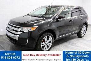 2014 Ford Edge LIMITED! AWD! LEATHER! NAVIGATION! PANO ROOF! 20
