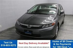 2012 Honda Civic LX SEDAN! 5-SPEED! POWER PACKAGE! CRUISE CONTRO