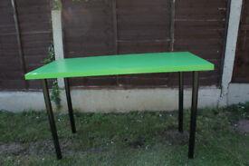 Green Ikea Table