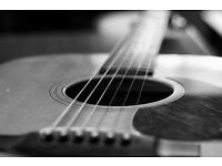 Beginner/Intermediate Acoustic Guitar lessons at £20 a lesson (First lesson free)