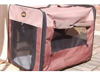 portable fold flat dog/puppy cage good cars and for training puppys