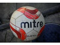 Mitre - Leather Football ball