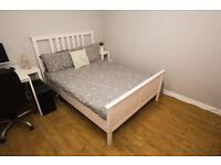 Ikea HEMNES Double Bed Frame