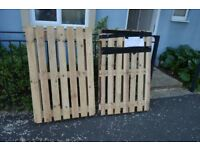 FREE 2 new wooden pallets