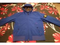 Genuine royal blue stone island jacket size small but fits a medium not selling just want to swap