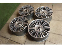 "4x Genuine Range Rover Evoque 19"" Alloy wheels 5x108 Freelander 2 Alloys"