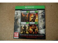 XB1 Gears of war collection (4 games) digital code.