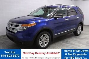 2013 Ford Explorer XLT 4WD 7-PASS! LEATHER! PANO ROOF! HEATED/PO