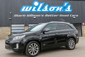 2014 Kia Sorento SX AWD! $91/WK, 4.74% ZERO DOWN! LEATHER! NAVIG